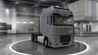 Euro Truck Simulator 2 Обзор мода(DAF XF 95) Респект!