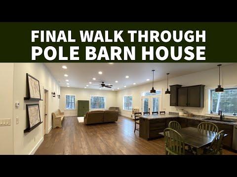 Final Walkthrough Pole Barn House Ep 20