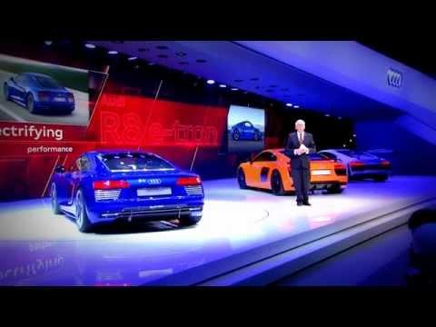 Geneva 2015 Motor Show - Audi Press Conference