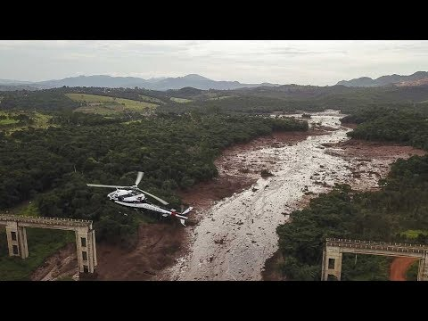 34 people dead, around 300 remain missing after Brazil dam collapse