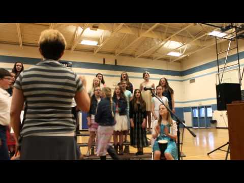 New Plymouth Middle School choir 2