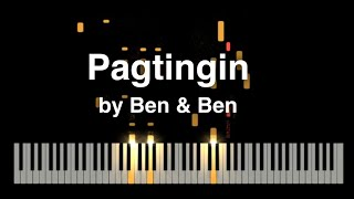 Pagtingin by Ben&Ben Synthesia piano tutorial with music sheet