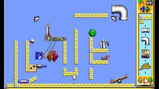 The Incredible Machine 2 (TIM 2) Solutions - Part 3 : Medium Puzzles
