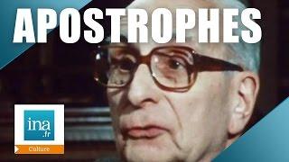 Apostrophes : Claude Levi Strauss définit l'ethnologie | Archive INA