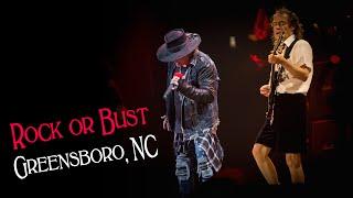 The #RockOrBust US tour kicked off last night in North Carolina! Ne...