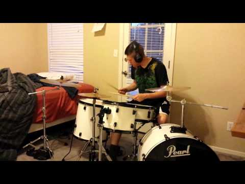 Foals - Milk & Black Spiders: Drum Cover