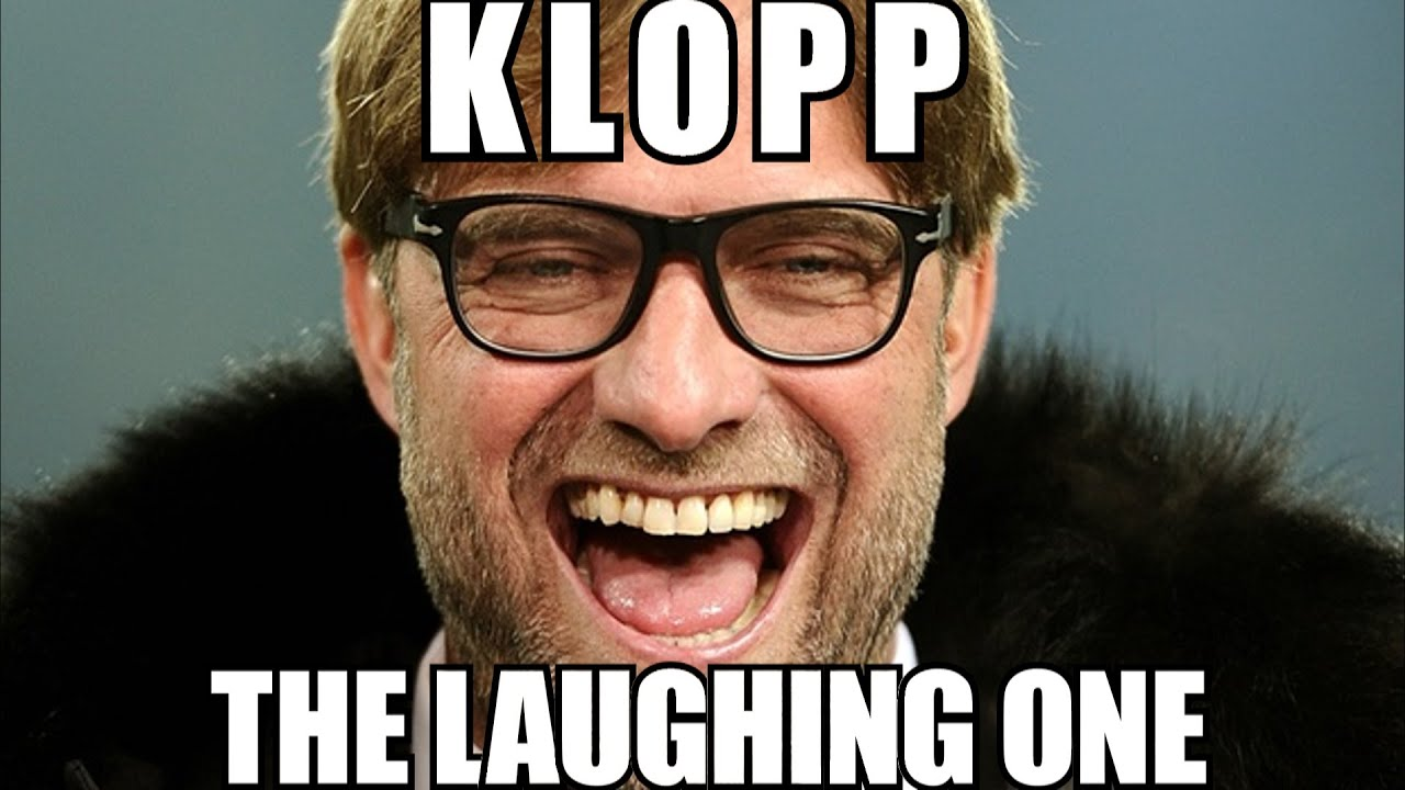 Image result for klopp laughing""