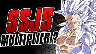 Is THIS The Super Saiyan 5 Multiplier!?
