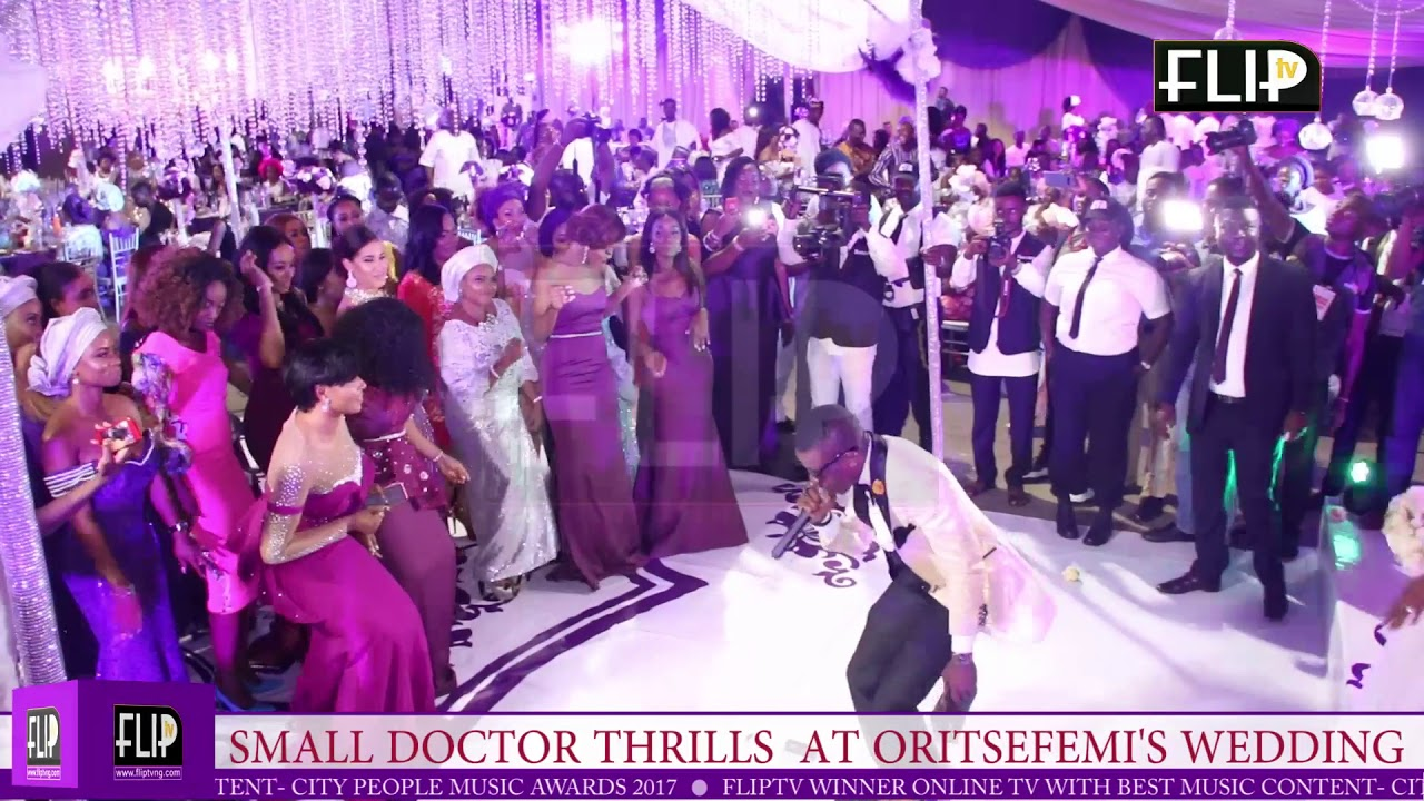 Download SMALL DOCTOR THRILLS AT ORITSEFEMI'S WEDDING