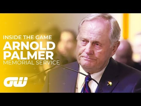 Arnold Palmer Memorial Service With Words From Jack Nicklaus & Grandson Sam Saunders | Golfing World