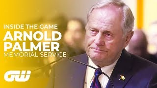 Arnold Palmer Memorial Service With Words From Jack Nicklaus & Grandson Sam Saunders   Golfing World