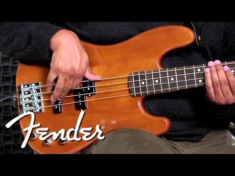 New Fender Deluxe Active Basses Demo