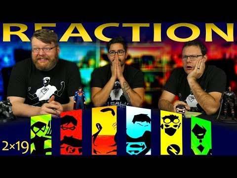 "Young Justice 2x19 REACTION!! ""Summit"""