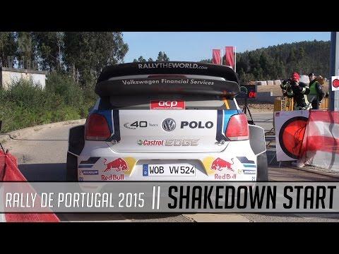 WRC Rally De Portugal 2015 || SHAKEDOWN  START || PURE SOUND
