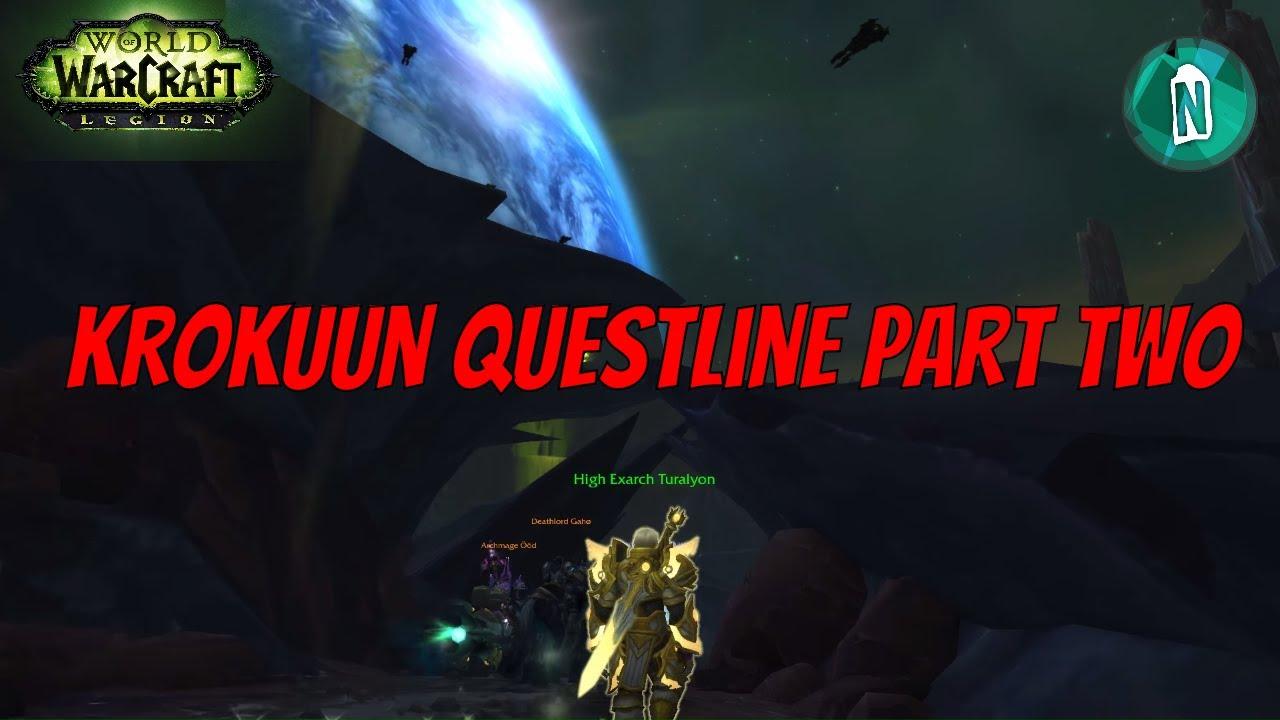 wow how to start legion questline