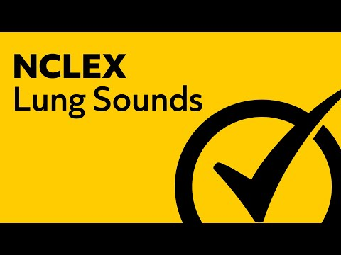 Lung Sounds | NCLEX Review 2018