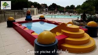 Camping Les Chênes   Junas   Proche de Sommières   Gard  Occitanie