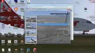 Como Instalar el (AES) Airport-Enhancement-Services Para FSX y FS2004