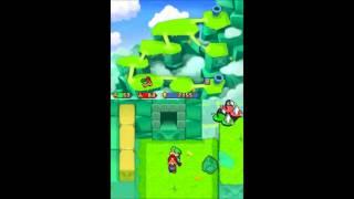 Mario & Luigi: Partners in Time Walkthrough Part 12: Thwomp Volcano, Boss: Mrs. Thwomp