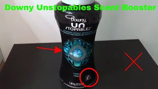 ✅ How To Use Downy Unstopables Scent Booster Review