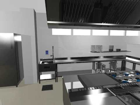 Autokitchen autodecco cocina industrial food service for Costo de cocina industrial