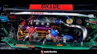 Perodua Alza Bolt On Turbo with Gold Cylinder Head