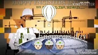 Whatsapp status Happy Engineers Day👷🏽👷🏼👷🏻👷🏻👷🏼