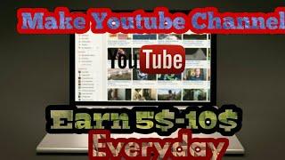 Profesyonel Youtube Kanal ll Youtube para Kazanmak Oluşturma Youtube ile Para kazanmak ll