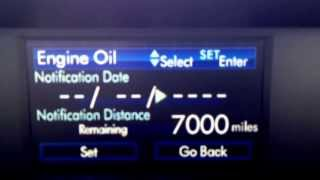 2014 Forester Maintenance Reset Gateway Subaru(via YouTube Capture., 2013-11-22T16:54:09.000Z)