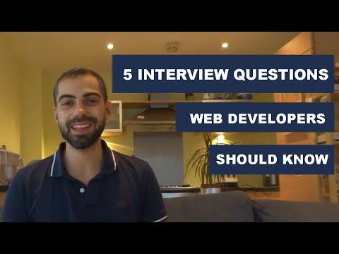 5 Interview Questions that every Frontend Web Developer Should Know