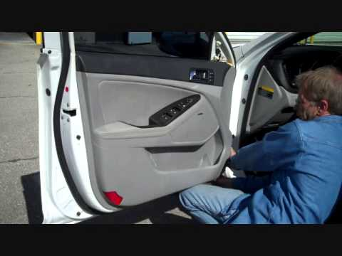 How To Kia Optima Front Car Stereo Door Speaker Removal