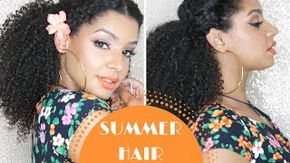 Go To Summer Hairstyle for Curly Hair