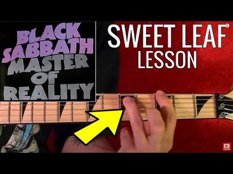 Sweet Leaf by BLACK SABBATH - Guitar Lesson - Tony Iommi