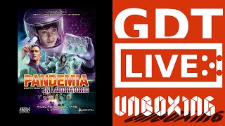 Pandemic: In the Lab - Pandemia: In Laboratorio - Unboxing