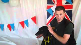 Dogs Trust Darlington: Queen's Jubilee Party With Jed The Lurcher