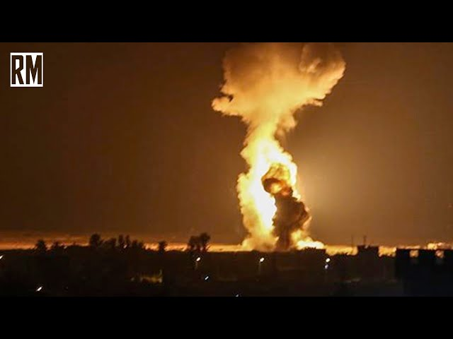 Israel Continues Bombing Campaign on Syria