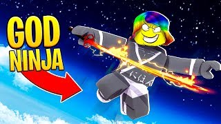 BECOMING a GOD NINJA and JUMPING 1,000,000,000 FEET