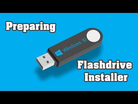 Preparing  Windows 10 OS  Flash Drive Installer (fix)