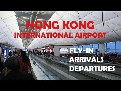 Hong Kong International Airport – Fly-in, Arrivals and Departures