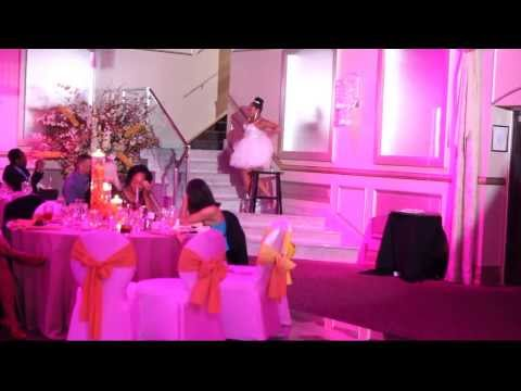 Angela's Surprise Beyonce Wedding Dance for Larry