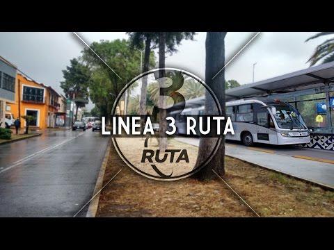 Metrobus en el Boulevard 5 de mayo || Linea 3 de RUTA, Puebla