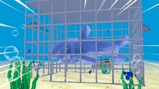 Minecraft - JAULA DE MEGALODON ! - PARQUE DOS DINOSSAUROS  ‹ LOKI ›