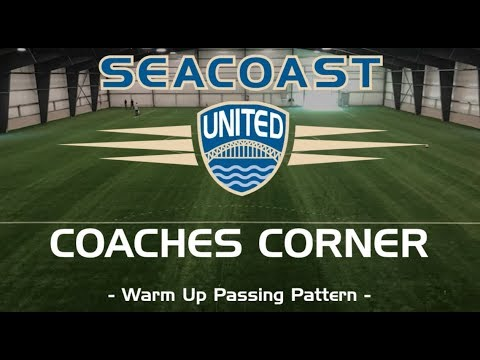 Seacoast United Soccer: Warm Up Passing Pattern