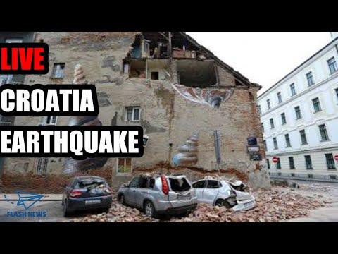 Earthquake of magnitude 6.3 strikes near Zagreb, Croatia.