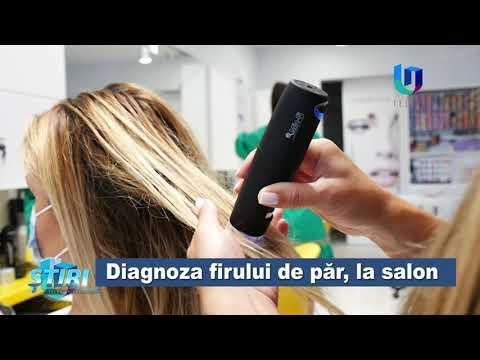 TeleU: Diagnoza firului de păr, la salon