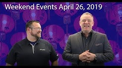 Weekend Events for April 26, 2019