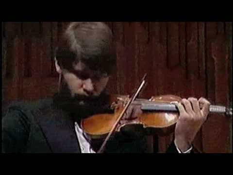 J. Brahms Violin Concerto Krzysztof Smietana 1/5 (1st mvt, part 1 of 3)