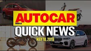 7-seat MG Hector Confirmed, New Scorpio Spied, Car Sales Slump & more | Quick News | Autocar India