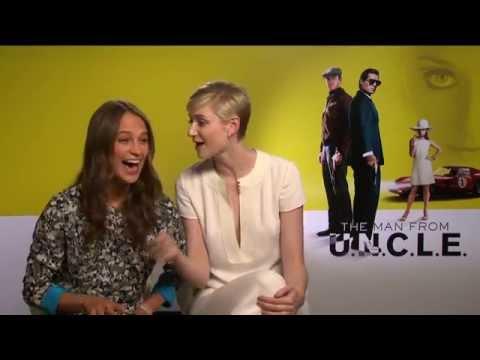 Kryptonim U.N.C.L.E.  Wywiad: Alicia Vikander i Elizabeth Debicki