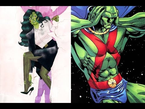 Man of Steel Writer Hurls Insults at She-Hulk, Martian Manhunter, and Nerds Everywhere